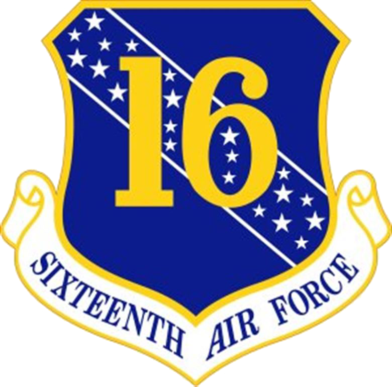 Image of 16th Air Force Shield