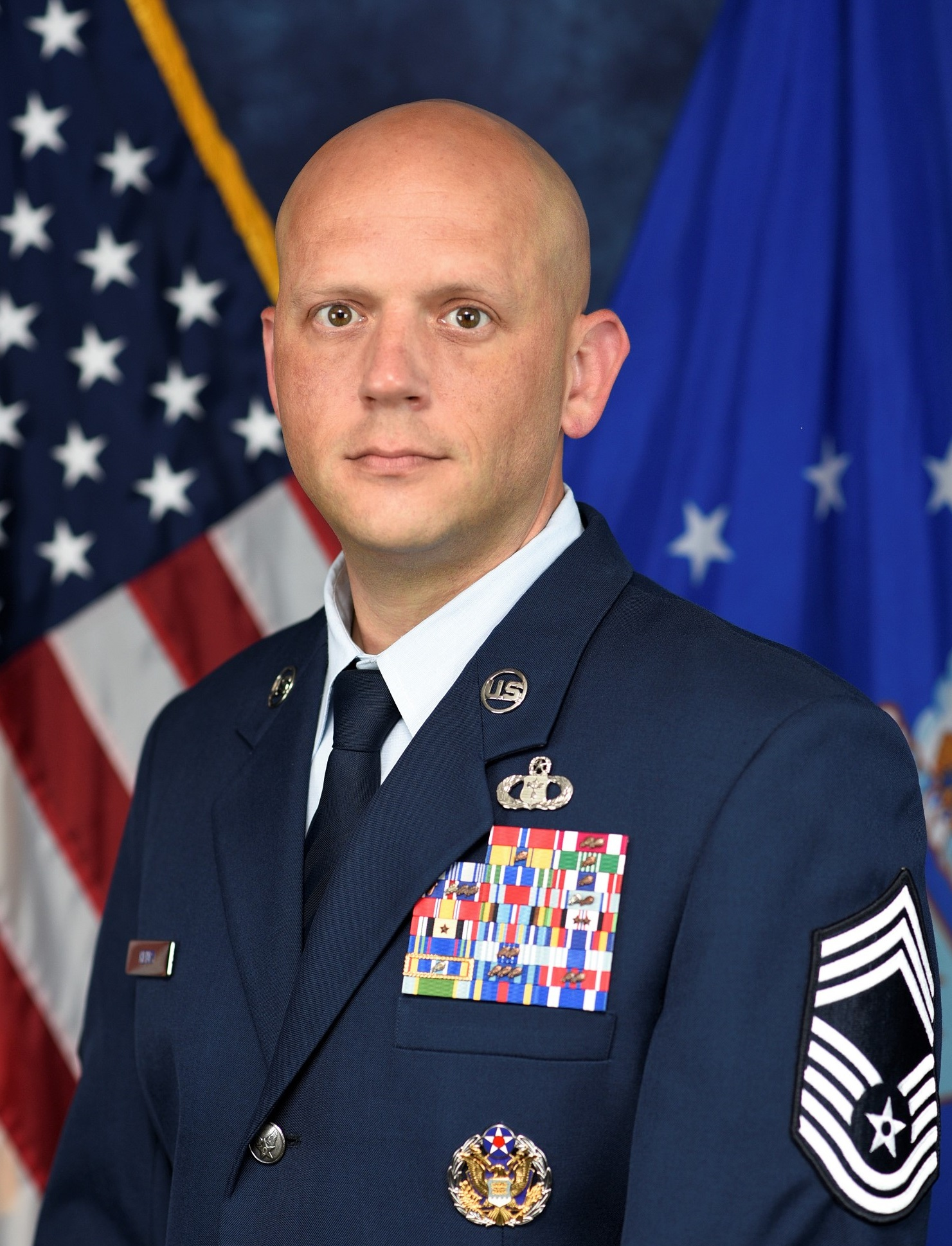 Chief Master Sgt. Timothy Henry, 2d Weather Group, Superintendent