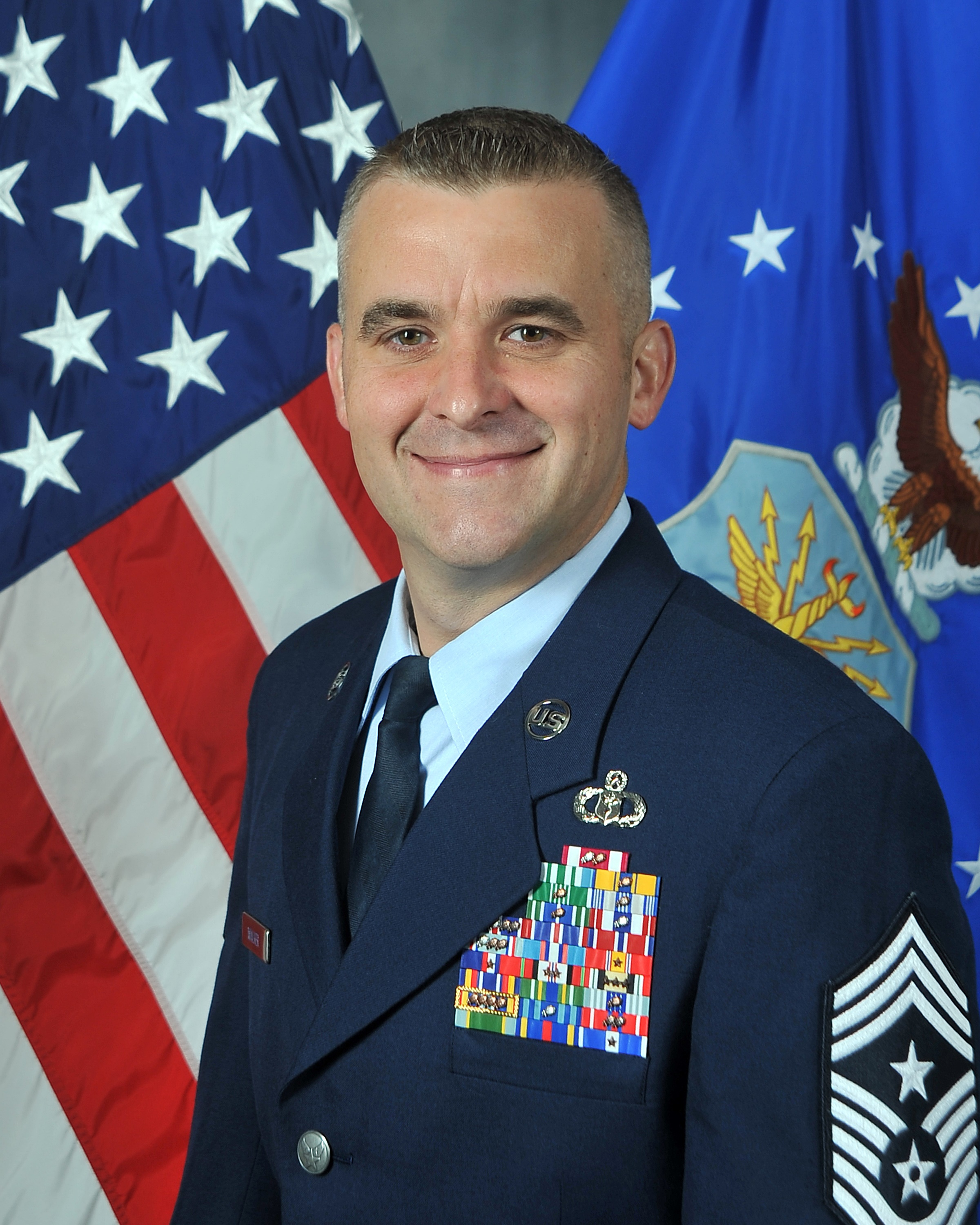 Chief Master Sgt. Walker